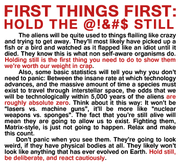 First Contact Instructions