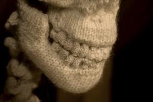 knit skeleton - details