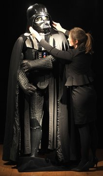 "Darth Vader costume [from ""Empire Strikes Back""]"